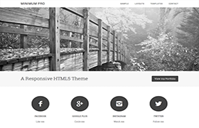 Minimum Pro Genesis Framework WordPress Theme