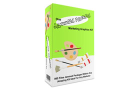 One Jammed Packed Marketing Graphics KIT