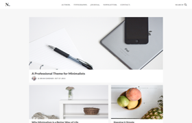 No Sidebar Pro Genesis FrameWork WordPress Theme