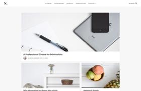 No Sidebar Pro Genesis FrameWork Wordpress Theme