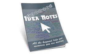 Keyword Idea Notes