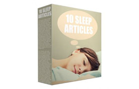 10 Sleep Articles