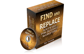 Find And Replace