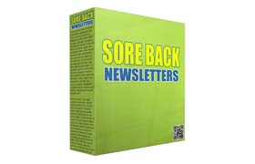 Sore Back Newsletters