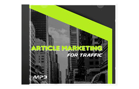 Article Marketing For Traffic