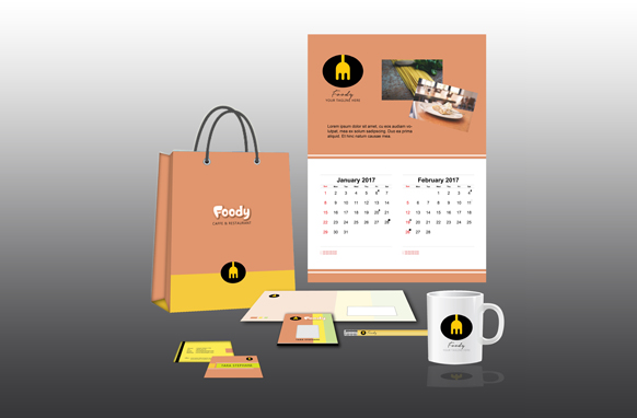 Foody Design Mockup Templates