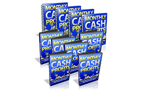Monthly Cash Profits