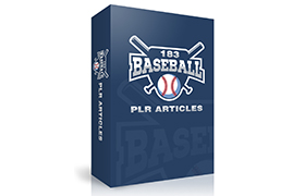 183 Baseball PLR Articles