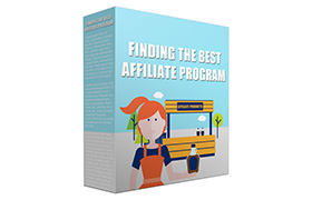 Finding The Best Affiliate Program