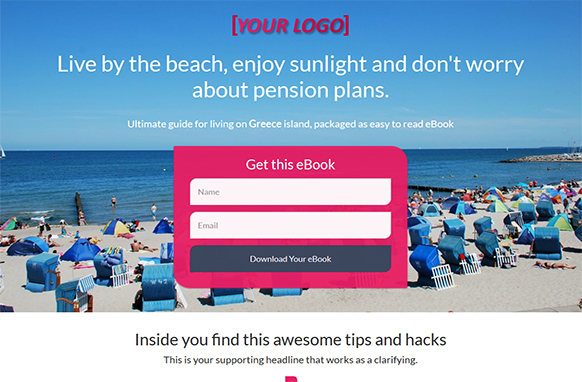 Beach Going HTML Template