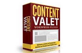 Content Valet WordPress Plugin