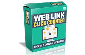 Web Link Click Counter