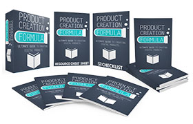 Product Creation Formula Upgrade Package