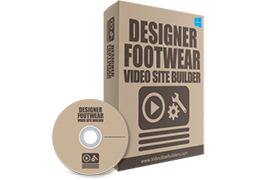 Designer Footwear Video Site Builder