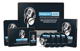Broadcast Audio With Blog Talk Radio