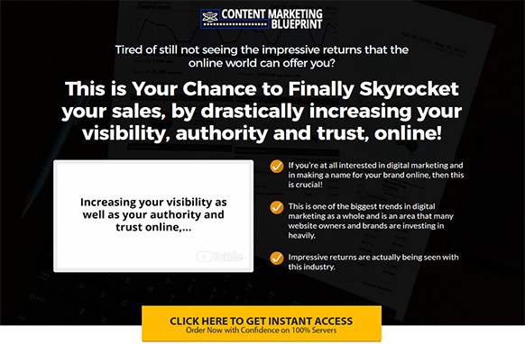 Content marketing blueprint plr database description malvernweather Choice Image