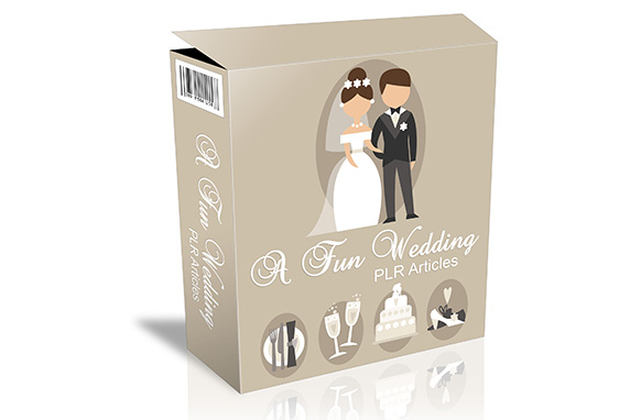 A Fun Wedding PLR Articles