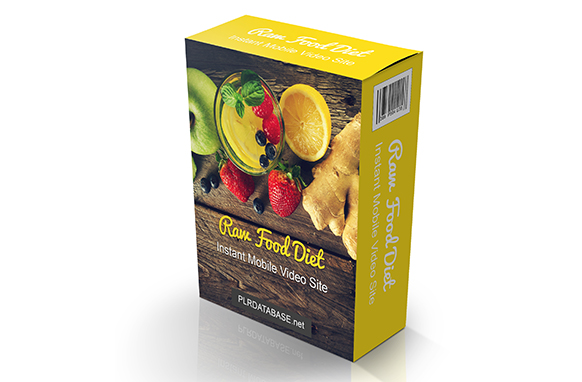 Raw Food Diet Instant Mobile Video Site