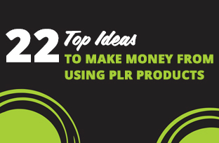 22 Top Ideas to Make Money from Using PLR Products