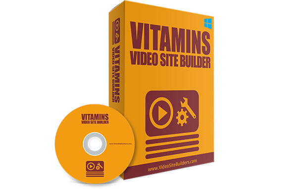 Vitamins Video Site Builder
