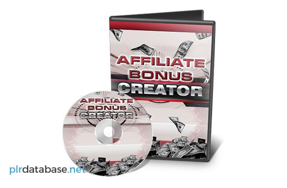 Affiliate Bonus Creator