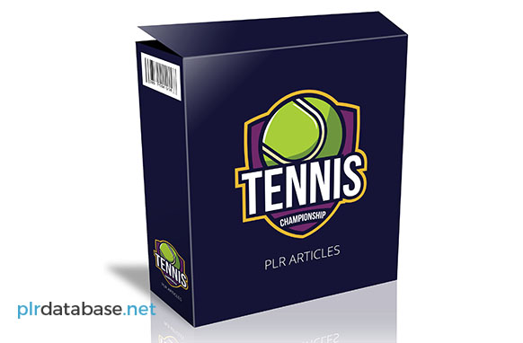 Tennis Champion PLR Articles