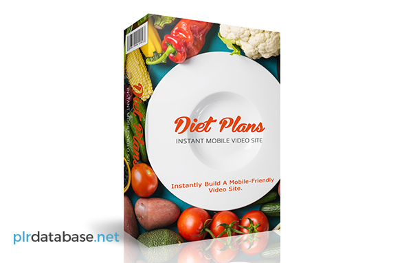 Diet Plans Instant Mobile Video Site
