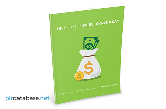 The Definitive Guide To $200 Per Day