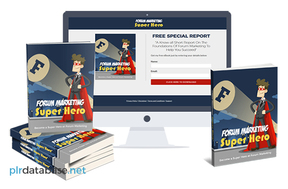 Forum Marketing Super Hero