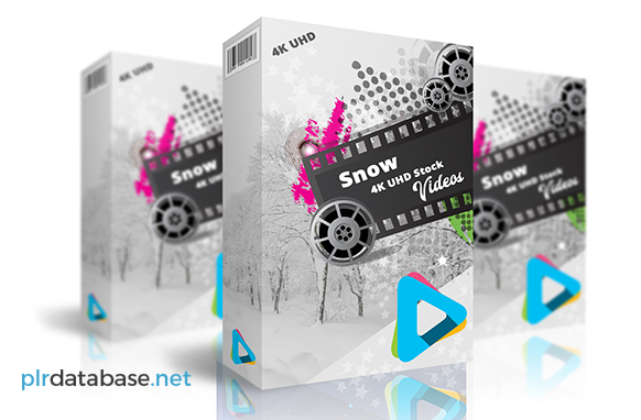 Snow 4K UHD Stock Videos