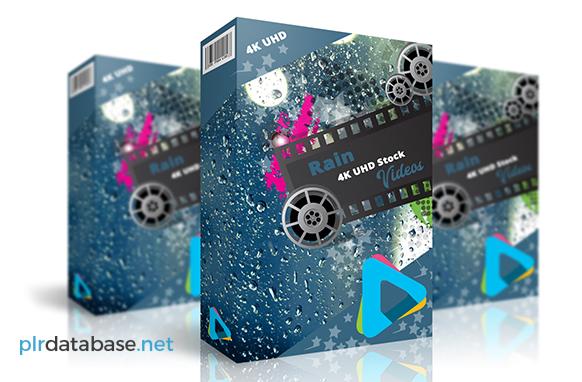 Rain 4K UHD Stock Videos