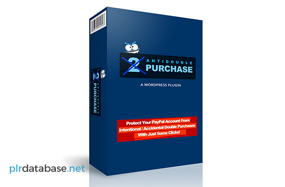 Anti Double Purchase WordPress Plugin
