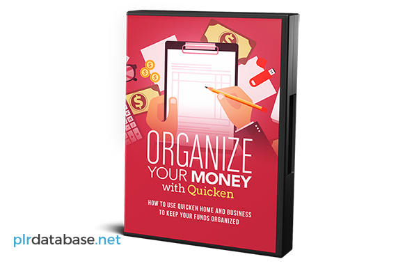 Organize Your Money With Quicken Upgrade Package