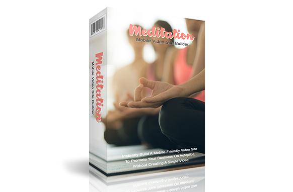 Meditation Mobile Video Site Builder