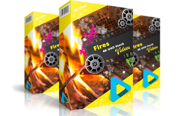 Fire 4K UHD Stock Videos