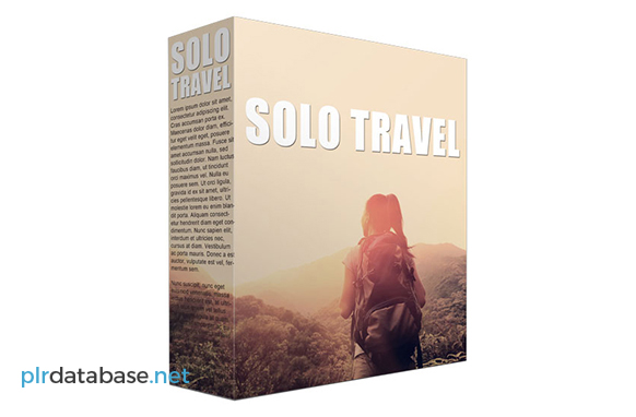 Solo Travel PLR Articles
