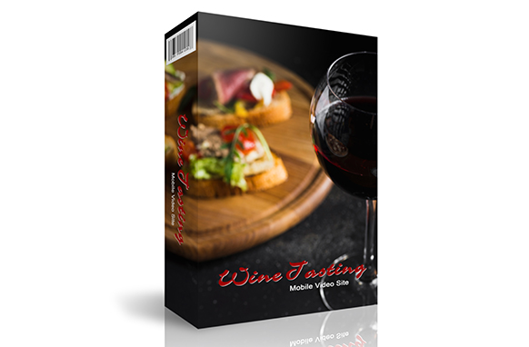 Wine Tasting Instant Mobile Video Site