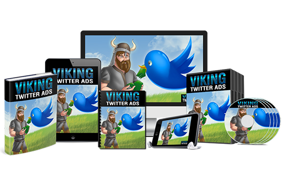 Viking Twitter Ads