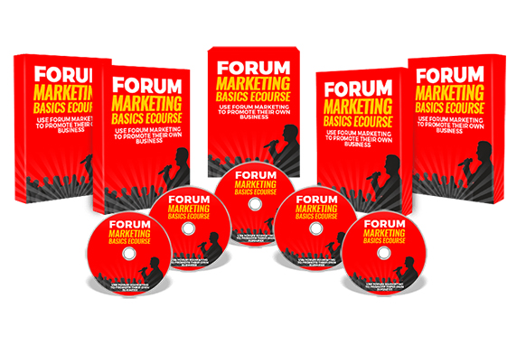 Forum Marketing Basics Ecourse