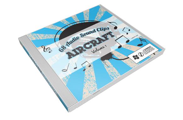 Stock Audio Sound Clips Volume 1 – Aircraft