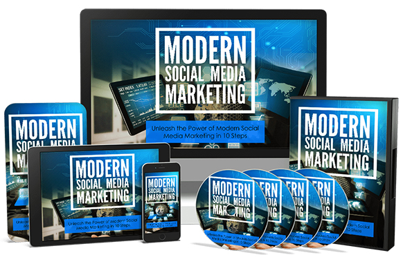 Modern Social Media Marketing Upgrade Package