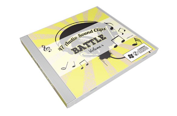 Stock Audio Sound Clips Volume 4 – Battle