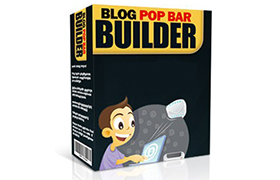 Blog Pop Bar Builder