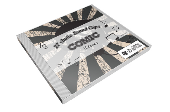 Stock Audio Sound Clips Volume 8 – Comic