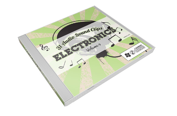 Stock Audio Sound Clips Volume 9 – Electronics