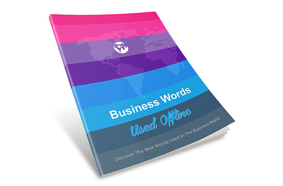 Business Words Used Offline