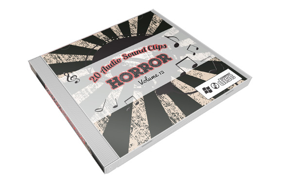 Stock Audio Sound Clips Volume 12 – Horror