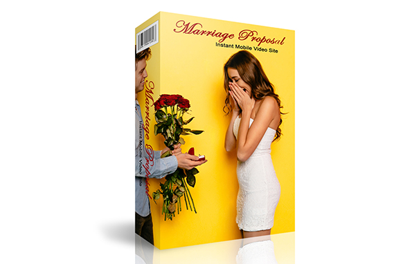 Marriage Proposal Instant Mobile Video Site