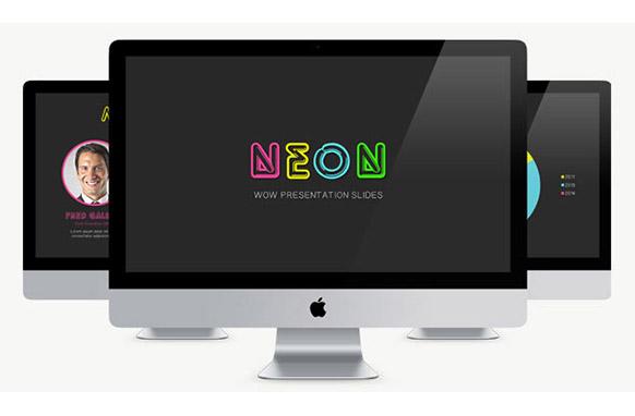 Neon Theme PP Presentations