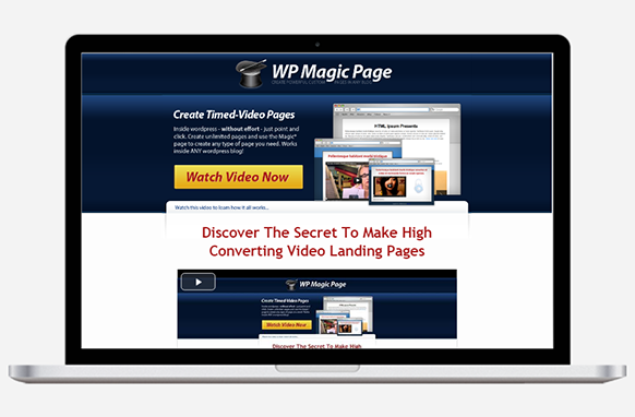 WP Magic Page